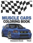 Muscle Cars: Coloring books, Classic Cars, Trucks, Planes Motorcycle and Bike (Dover History Coloring Book) (Volume 2) Cover Image