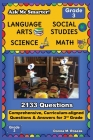 Ask Me Smarter! Language Arts, Social Studies, Science, and Math - Grade 3: Comprehensive, Curriculum-aligned Questions and Answers for 3rd Grade Cover Image