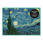 Moma Starry Night Greeting Card Puzzle Cover Image
