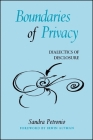 Boundaries of Privacy: Dialectics of Disclosure Cover Image