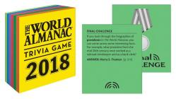 The World Almanac 2018 Trivia Game (World Almanac and Book of Facts) Cover Image