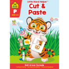 Cut & Paste Workbook with Stickers Cover Image