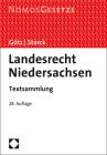 Landesrecht Niedersachsen: Textsammlung - Rechtsstand: 15. August 2019 Cover Image