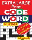 EXTRA LARGE Print CODEWORD Puzzles Cover Image