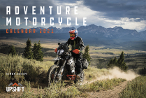 Adventure Motorcycle Calendar 2021 Cover Image