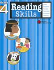Reading Skills: Grade 4 (Flash Kids Harcourt Family Learning) Cover Image
