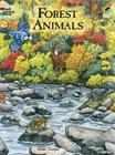 Forest Animals Coloring Book (Dover Nature Coloring Book) Cover Image