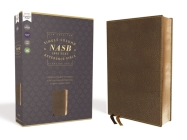 Nasb, Single-Column Reference Bible, Leathersoft, Brown, 1995 Text, Comfort Print Cover Image