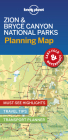 Lonely Planet Zion & Bryce Canyon National Parks Planning Map (Planning Maps) Cover Image
