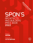 Spon's Architects' and Builders' Price Book 2022 (Spon's Price Books) Cover Image