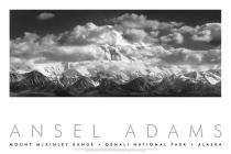Mount Mckinley Range, Clouds, Denali National Park, Alaska, 1948 Cover Image