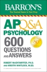 AP Q&A Psychology: 600 Questions and Answers (Barron's Test Prep) Cover Image