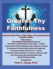 Great Is Thy Faithfulness: Instrumental Solo with Piano Accompaniment Cover Image