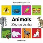 My First Bilingual Book–Animals (English–Polish) Cover Image