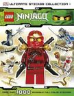 Ultimate Sticker Collection: LEGO NINJAGO (Ultimate Sticker Collections) Cover Image