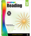 Spectrum Reading Workbook, Grade 3 Cover Image