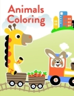 Animals Coloring: Christmas Animals Books and Funny for Kids's Creativity Cover Image