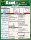 Excel 365 - Pivot Tables & Charts: A Quickstudy Laminated Reference Guide Cover Image