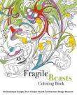 Fragile Beasts Coloring Book Cover Image