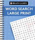 Brain Games Large Print Word Search Cover Image