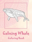 Calming Whale - Coloring Book Cover Image