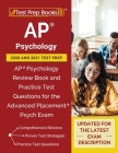 AP Psychology 2020 and 2021 Test Prep: AP Psychology Review Book and Practice Test Questions for the Advanced Placement Psych Exam [Updated for the La Cover Image