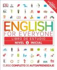 English for Everyone: Nivel 1: Inicial, Libro de Estudio: Curso Completo de Autoaprendizaje Cover Image