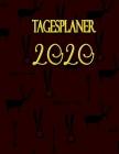 Tagesplaner 2020: Tages-Kalender 2020 - großzügiges A4-Format - Pro Tag eine Seite Cover Image