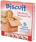 Biscuit Take-Along Storybook Set: 5 Biscuit Adventures Cover Image