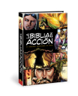 La Biblia en acción: The Action Bible-Spanish Edition (Action Bible Series) Cover Image
