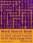 Word Search Book For Seniors: Pro Vision Friendly, 51 Right Angled Puzzles, 30 Pt. Extra Large Print, Vol. 36 Cover Image