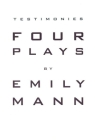 Testimonies: Four Plays Cover Image