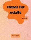 Mazes for Adults Cover Image