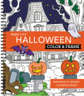 Color & Frame - Halloween (Coloring Book) Cover Image