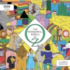 The Wonderful World of Oz 1000 Piece Puzzle: A Movie Jigsaw Puzzle Cover Image