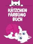 Kätzchen Färbung Buch: Niedliche Katzen Malbuch für Kinder - Färbung Aktivität Buch für Kinder - Tier-Malbuch für Kinder 4-12 Jahre alt - lus Cover Image