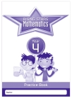 Rising Stars Mathematics Year 4 Practice Book Cover Image