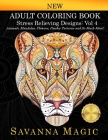 Adult Coloring Book: (Volume 4 of Savanna Magic Coloring Books) Cover Image