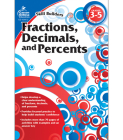 Fractions, Decimals, and Percents, Grades 3 - 5 (Skill Builders (Carson-Dellosa)) Cover Image