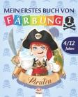 Mein erstes buch von - piraten 1: Malbuch für Kinder von 4 bis 12 Jahren - 25 Zeichnungen - Band 1 Cover Image