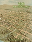2020 Weekly Planner: Baxter Springs, Kansas (1871): Vintage Panoramic Map Cover Cover Image