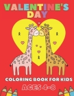 Valentine's Day Coloring Book For Kids Ages 4-8: Gift For Children Cover Image