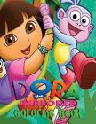 Dora the Explorer Coloring Book: Coloring Book for Kids and Adults 50 illustrations Cover Image