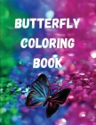 Butterfly Coloring Book Cover Image