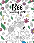 Bee Coloring Book Cover Image