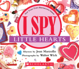I Spy Little Hearts (with foil): A Book of Picture Riddles Cover Image