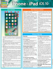 iPhone & iPad IOS 10: Quickstudy Laminated Reference Guide Cover Image