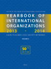Yearbook of International Organizations 2013-2014 (Volume 5): Statistics, Visualizations, and Patterns (Yearbook of International Organizations / Yearbook of Intern #5) Cover Image