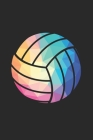 Volleyball Training Journal - Gift for Volleyball Player - Low Poly Volleyball Notebook - Volleyball Diary: Unruled Blank Journey Diary, 110 blank pag Cover Image