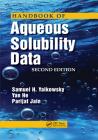 Handbook of Aqueous Solubility Data Cover Image